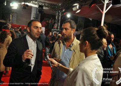 GONE BACK an Ernest Meholli film Astrit Alihajdaraj PriFest Premiere in Kosovo Alaudin Hamiti Klan Kosova