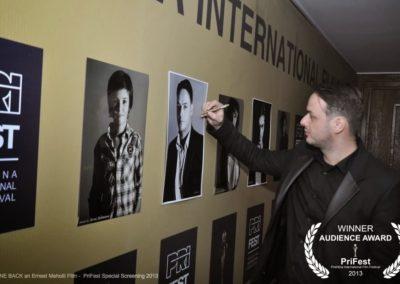 Ernest Meholli GONE BACK film PriFest Special Screening4