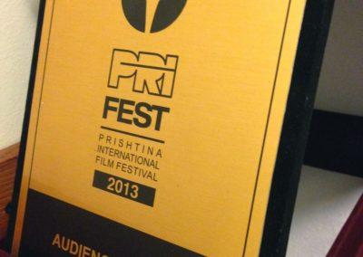Audience Award GONE BACK an Ernest Meholli film PriFest Special Screening50