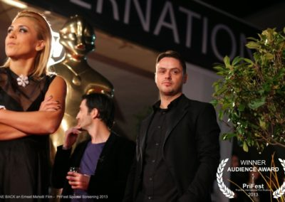 GONE BACK an Ernest Meholli film PriFest Premiere in Kosovo