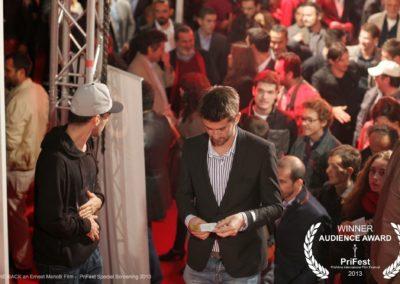 GONE BACK an Ernest Meholli film PriFest Kosovo Audience award