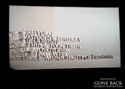Gone Back by Ernest Meholli Intern Cast Crew Premiere16