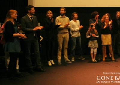 Gone Back by Ernest Meholli Intern Cast Crew Premiere26