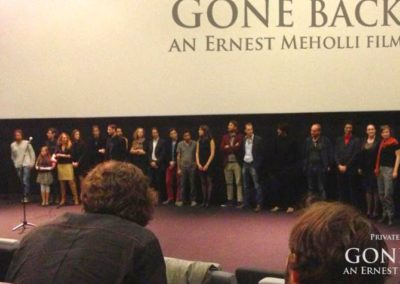 Gone Back by Ernest Meholli Intern Cast Crew Premiere28