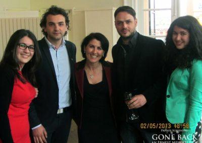 Gone Back by Ernest Meholli Intern Cast Crew Premiere84