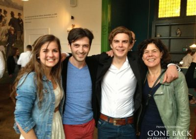 Gone Back by Ernest Meholli Intern Cast Crew Premiere86